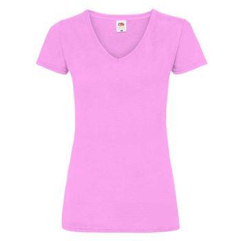 Damen - T-Shirt - FotL - Valueweight Lady-Fit V-Neck Miniaturansicht