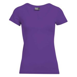 Damen - T-Shirt - Promodoro - Slim Fit V-Neck Miniaturansicht